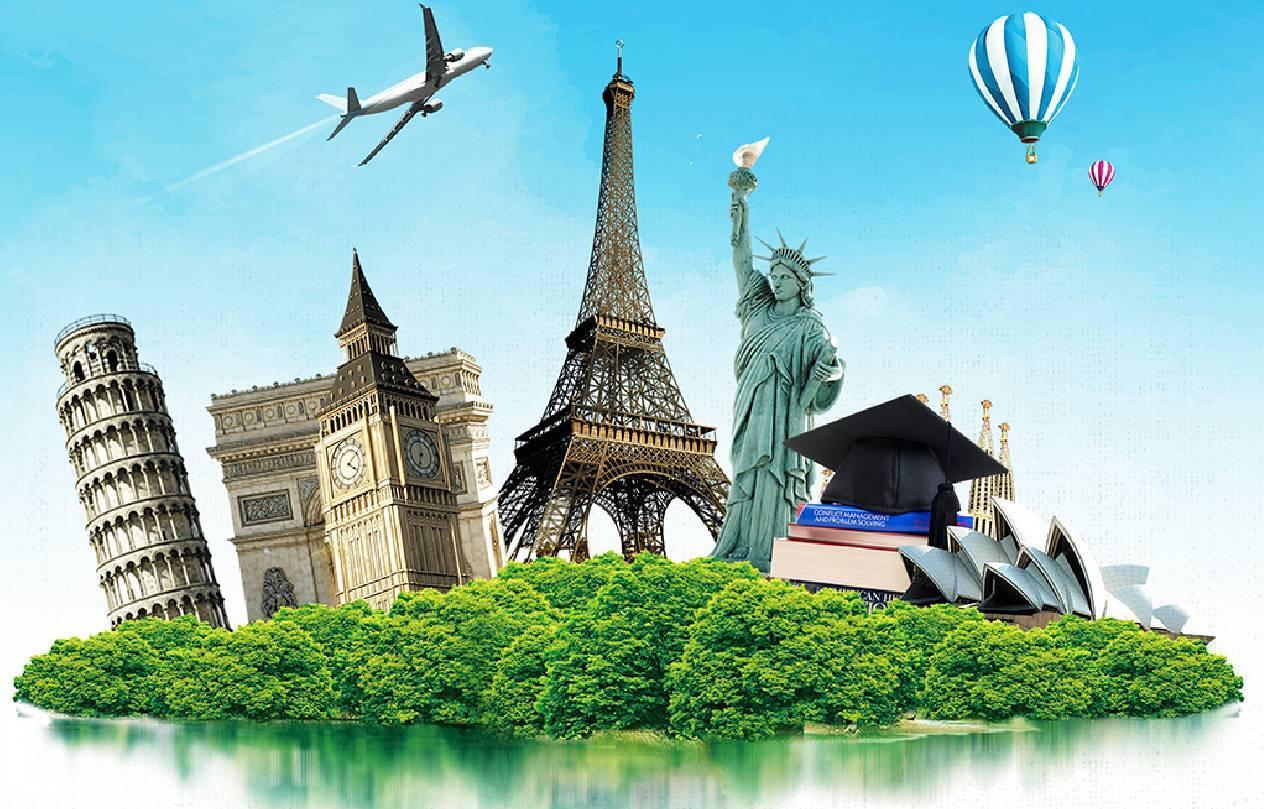 全球留学国家排行榜TOP10